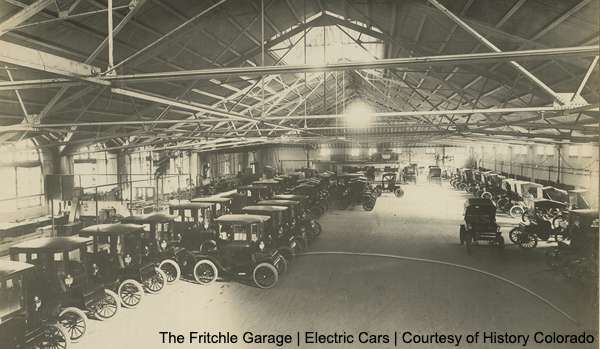 Fritchle Garage Courtest of History Colorado